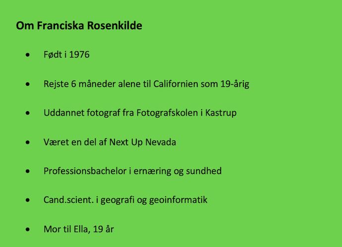 Franciska Faktaboks