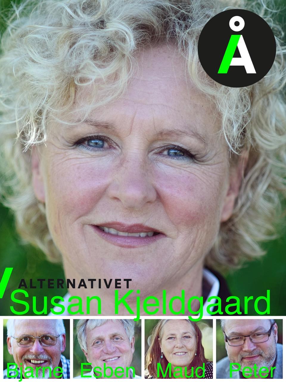 alternativet Susan fællesplakat ny serie 1